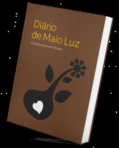 Livro Diário de Maio Luz | Pista Mágica - Escola de Voluntariado
